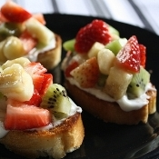 Bocadinhos de frutas