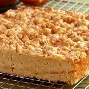 Torta de maçã e leite condensado