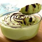 Mousse de abacate com chocolate