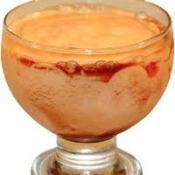 Mousse de mamão papaya com licor