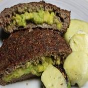 Low carb com abacate