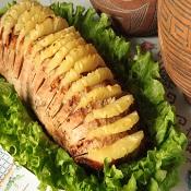 Lombo com abacaxi