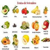 Frutas de setembro