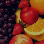 Frutas da estação do mês de Março