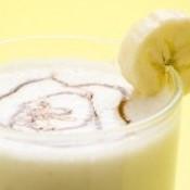 Frapê de coco com banana